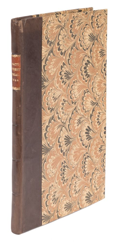 The Trials of Arthur Thistlewood, James Ings, John Thomas Brunt, Trials, Cato Street Conspiracy.