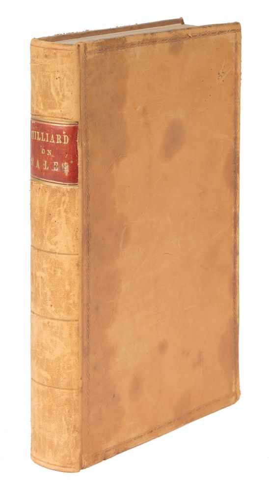 A Treatise on the Law of Sales of Personal Property. Francis Hilliard.