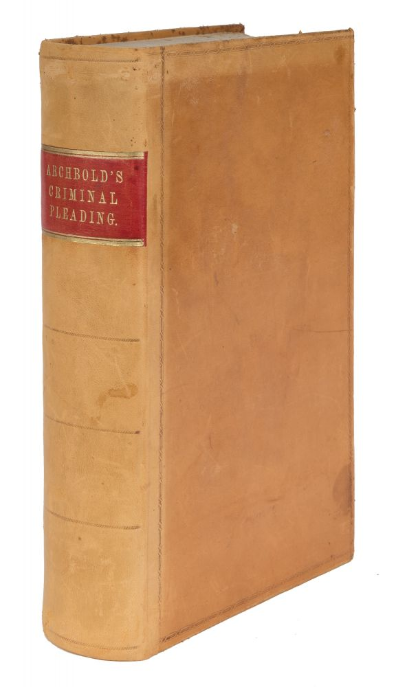Archbold's Summary of the Law Relating to Pleading and Evidence. John Frederick Archbold, John Jervis.