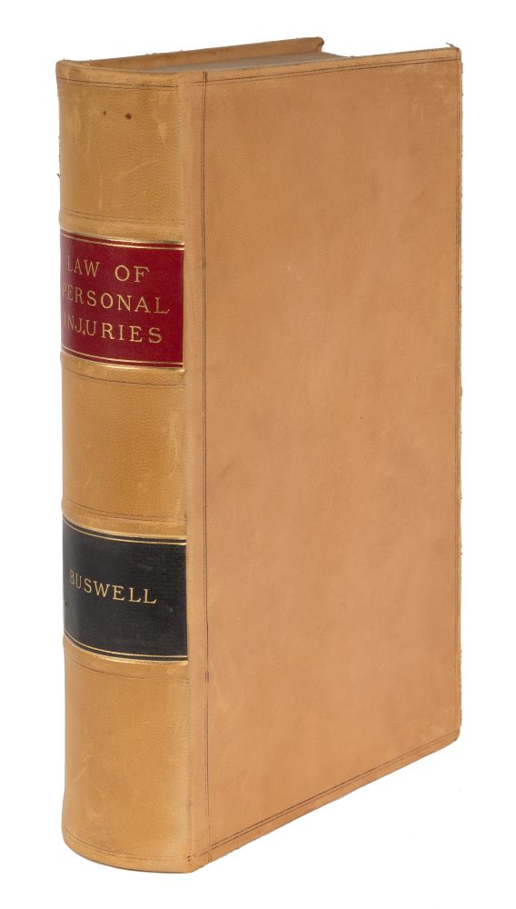 The Civil Liability for Personal Injuries Arising out of Negligence. Henry F. Buswell.