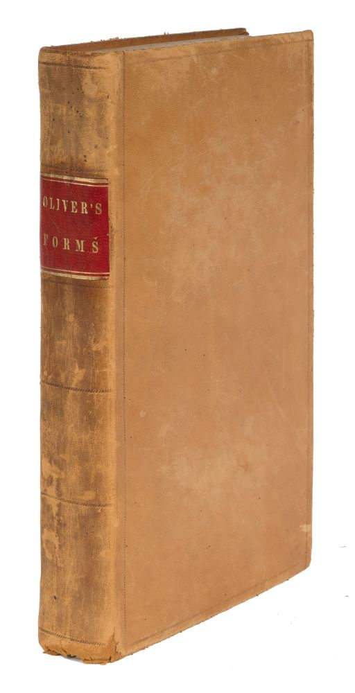 Forms in Chancery, Admiralty, and at Common Law. Benjamin L. Oliver.