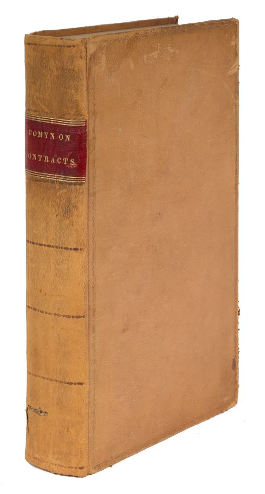 The Law of Contracts and Promises Upon Various Subjects and With. Samuel Comyn, Thomas Huntington.