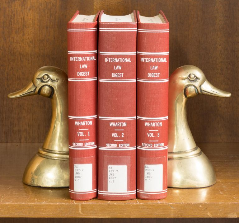 A Digest of the International Law of the United States... 3 vols. Francis Wharton.
