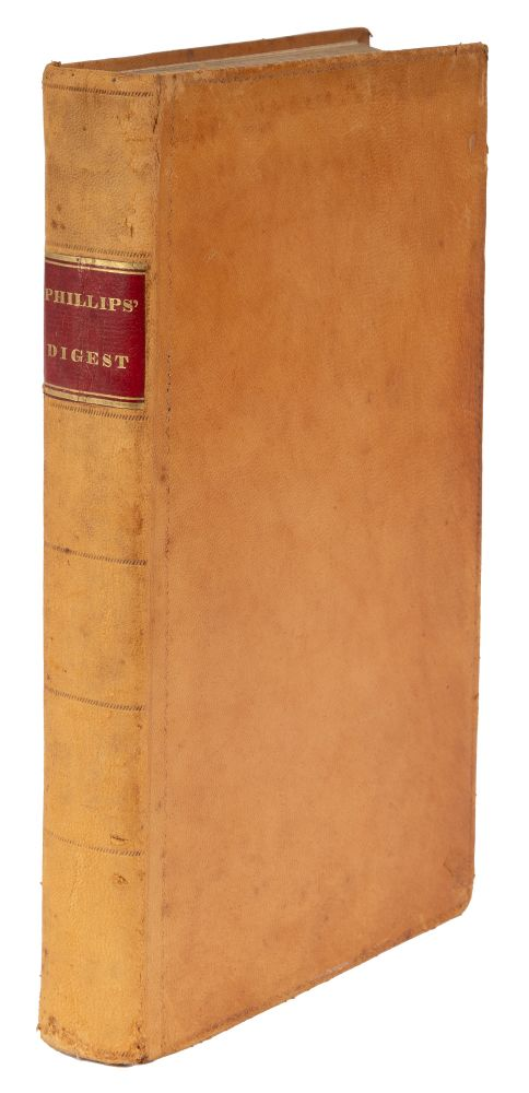 A Digest of Pickering's Reports, From the Second to the Eighth Volume. Willard Phillips, Primary.