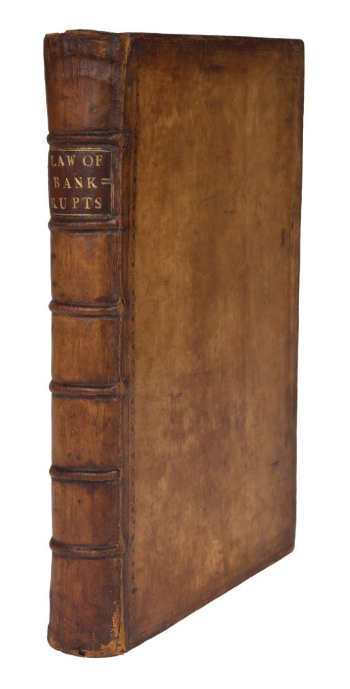 The Laws Relating to Bankrupts, Only Edition, London, 1744. Thomas Davies.