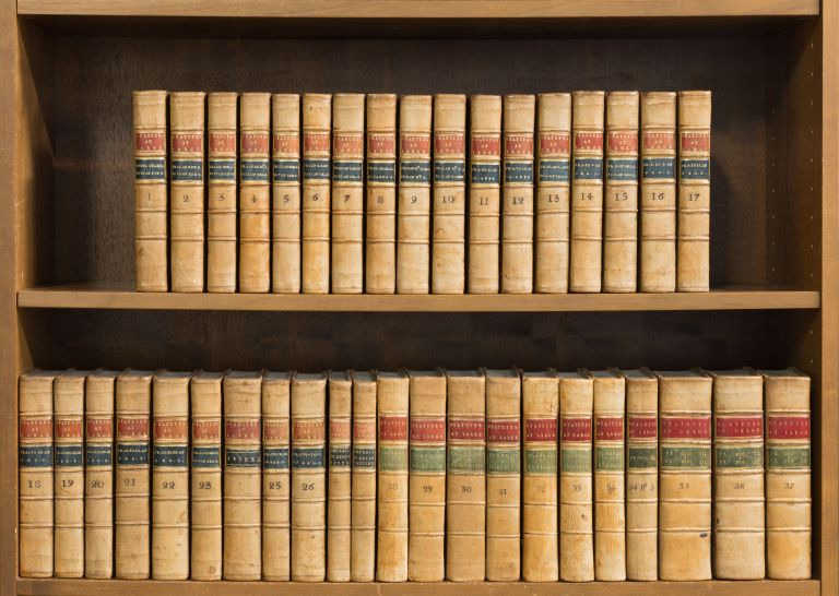 The Statutes at Large, 37 Volumes in 39 Books, Macclesfield Library. Danby Pickering, Compiler.