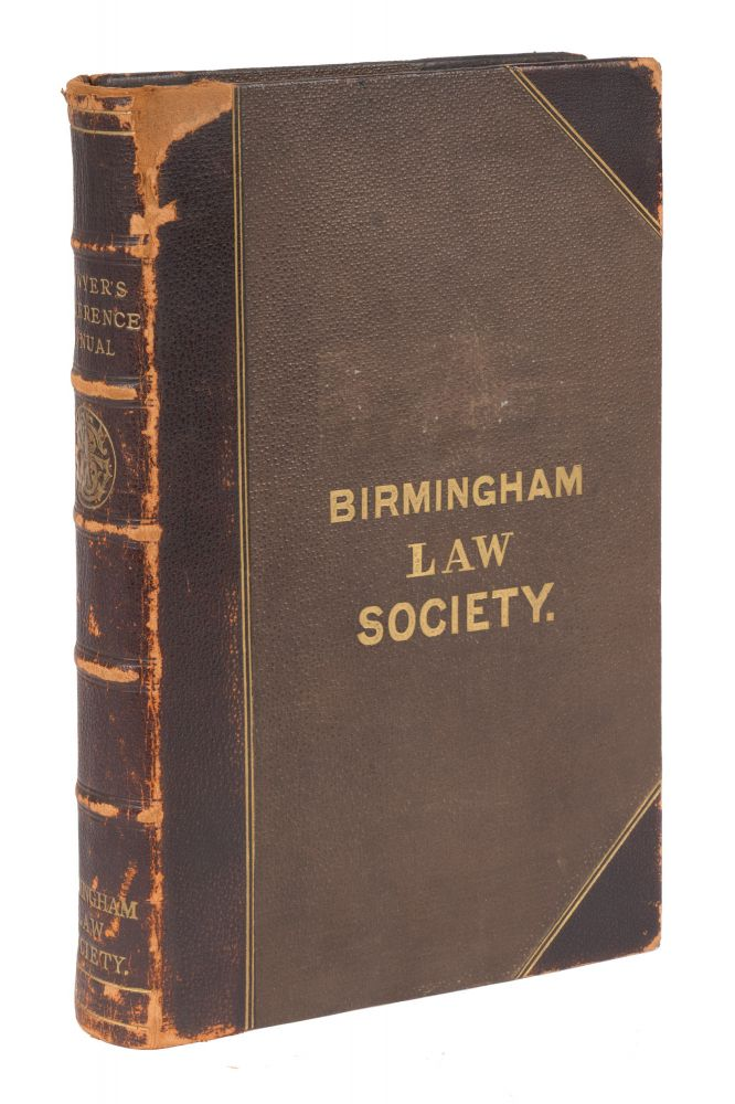 The Lawyer's Reference Manual of Law Books and Citations. Charles C. Soule.