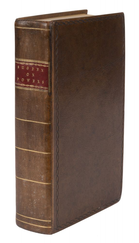 A Practical Treatise of Powers, First American Edition. Edward Sugden, Edward D. Ingraham.