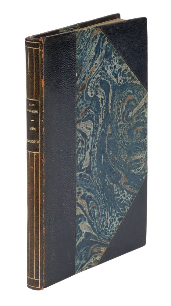 Mes Prisons, First Edition, Inscribed by Verlaine. Paul Verlaine.