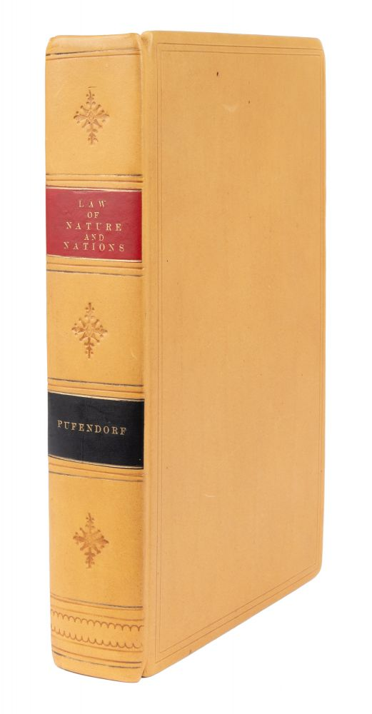 Of the Law of Nature and Nations, Eight Books, Written in Latin by. Samuel von Pufendorf, Basil Kennett.