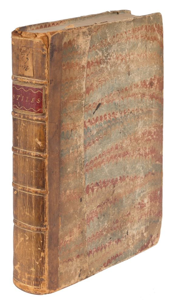 A Collection of the Stiles of Personal Rights and Diligence. Manuscript, Scotland.