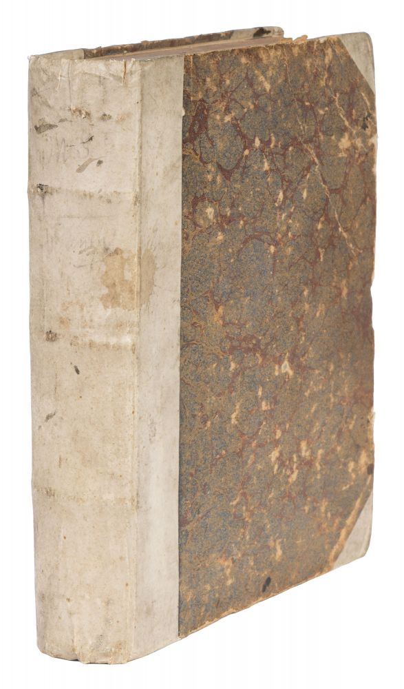 French Manuscript Account of English and European History, c.1783. Manuscript, Political Science.