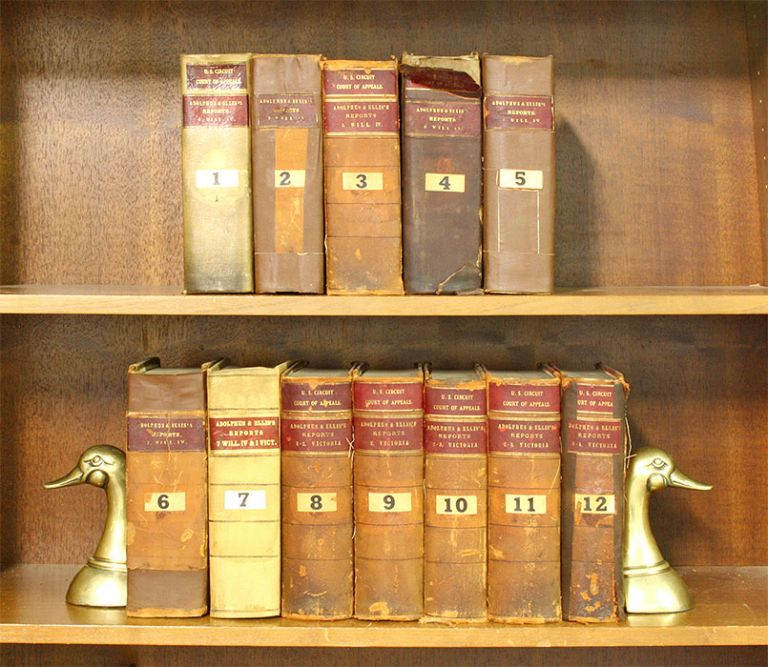 Reports of Cases...in the Court of King's Bench... 12 vols. John Leycester Adolphus.