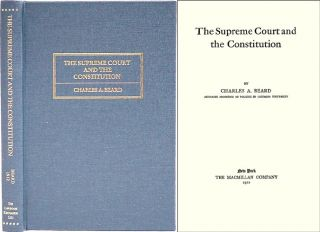 The Supreme Court and the Constitution. Charles A. Beard