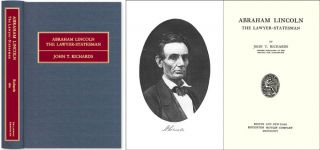 Abraham Lincoln The Lawyer-Statesman. ISBN 1886363943. John T. Richards
