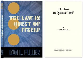 The Law in Quest of Itself. Lon L. Fuller