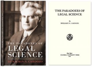 The Paradoxes of Legal Science. Benjamin N. Cardozo