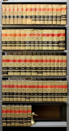 Supreme Court Reporter, West's. 64 Vols. 57 to 115B range 12 linear ft. West Publishing Co