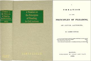 A Treatise on the Principles of Pleading. James Gould