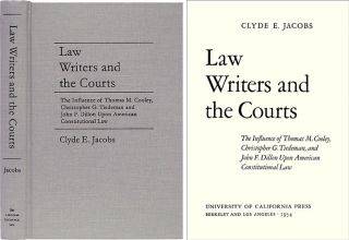 Law Writers and the Courts. Clyde E. Jacobs