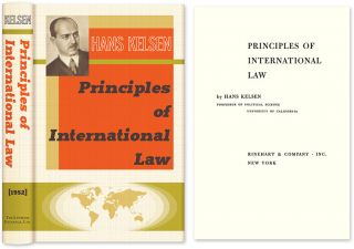 Principles of International Law. Hans Kelsen, HARDCOVER