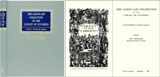 The Canon Law Collection of the Library of Congress. A General. Dario C. Ferreira-Ibarra, Compiler