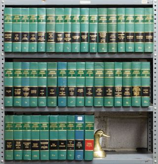 American Jurisprudence 2d. Odd/Misc. volumes 3 to 76. Thomson Reuters