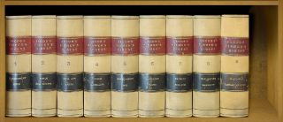 An Analytical Digest of the Law and Practice of England. 9 Vols of 11. Ephraim A. Jacob
