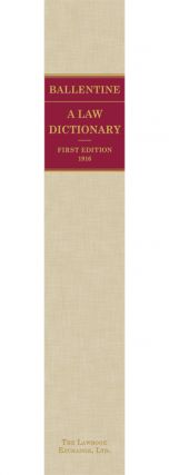 A Law Dictionary of Words, Terms, Abbreviations and Phrases Which...