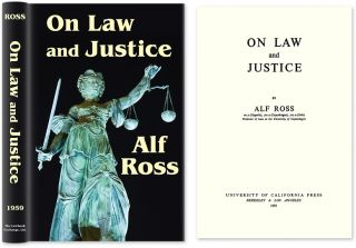 On Law and Justice. Alf Ross