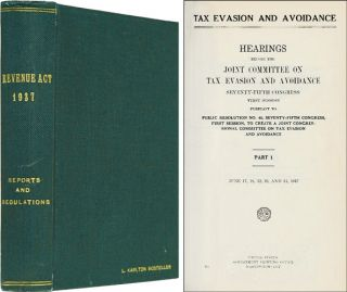 Revenue Act of 1937: Reports and Regulations. United States Congress.