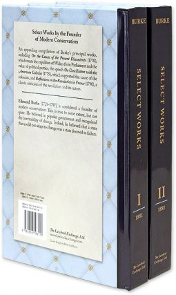 Burke, Select Works. Edited with an Introduction and Notes by E.J....