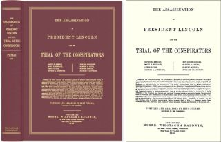 The Assassination of President Lincoln and the Trial of the. Benn Pitman, Recorder and