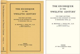 The Exchequer in the Twelfth Century. Reginald Lane Poole