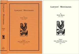 Lawyers' Merriments. David Murray.