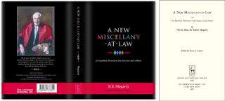 A New Miscellany at Law. Yet Another Diversion for Lawyers and Others. Sir Robert Megarry, Bryan A. Garner.