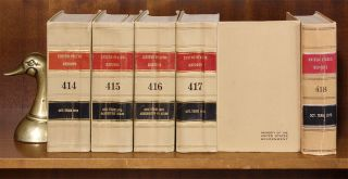 United States Reports. Official edition. Vols. 398-420 (1969-1974)