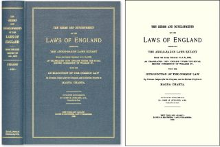 The Germs and Developments of the Laws of England: Embracing the. John M. Stearns