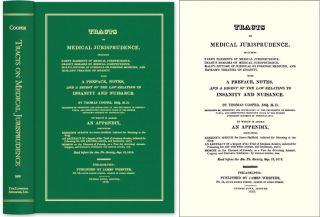 Tracts on Medical Jurisprudence Including Farr's Elements of. Thomas Cooper