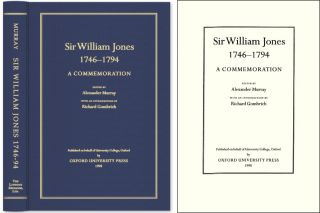 Sir William Jones, 1746-1794: A Commemoration. Alexander Murray, Sir William Jones