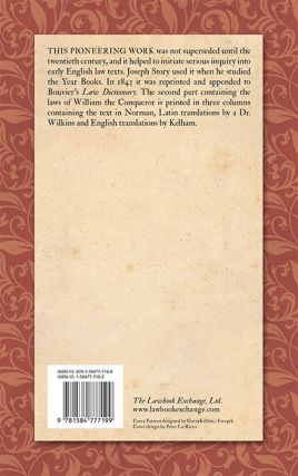 A Dictionary of the Norman or Old French Language; Collected From...