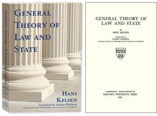 General Theory of Law and State. Paperback edition. Hans Kelsen, Anders Wedberg, trans., PAPERBACK.