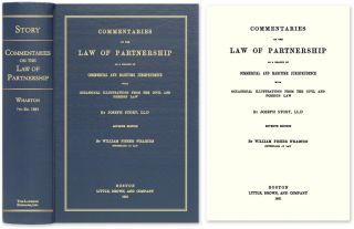 Commentaries on the Law of Partnership as a Branch of Commercial. Joseph Story, William Fisher...