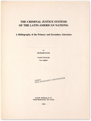 The Criminal Justice Systems of the Latin-American Nations: A...