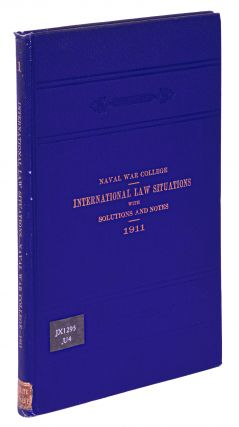 International Law Situations with Solutions and Notes. 1911.