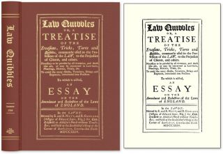Law Quibbles. Or, a Treatise of the Evasions, Tricks, Turns and. Great Britain Legal Criticism