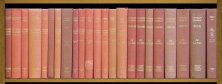 Copyright Decisions. 1909 to 1971-72, in 22 bks w/Cum Index 1909-1970. United States Copyright...