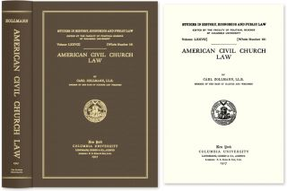 American Civil Church Law. Carl Zollmann