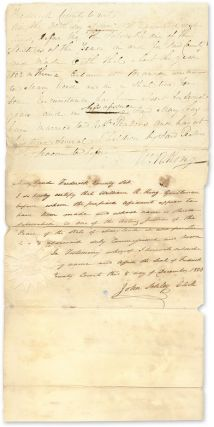 Frederick County to Wit. On the 20th day of November 1820 Appeared. Manuscript, Maryland, John...