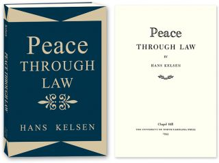 Peace Through Law. Hans Kelsen, PAPERBACK